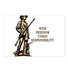 With Freedom(MM) Postcards (Package of 8)