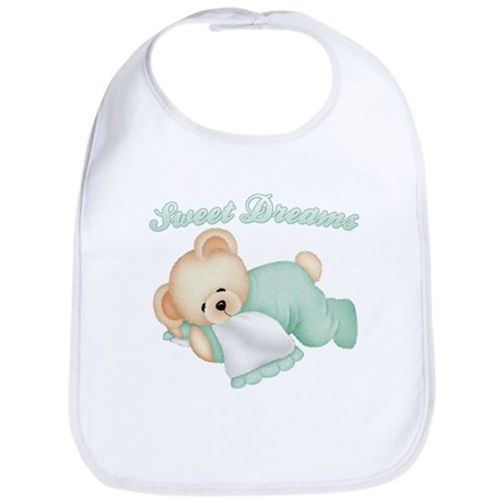 Sweet Dreams Bear Bib