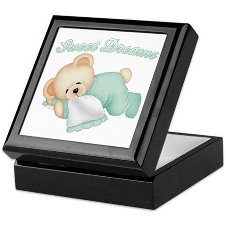Sweet Dreams Bear Keepsake Box