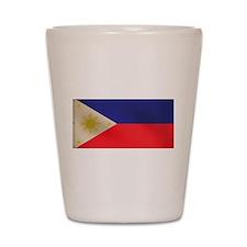 Philippine Flag Shot Glass
