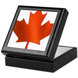 Canadian Maple Leaf Keepsake Box