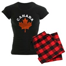 Canadian Maple Leaf Pajamas
