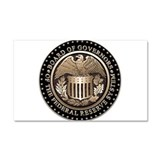 Federal Reserve Car Magnet 20 x 12