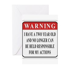 Terrible 2s Greeting Cards (Pk of 10)