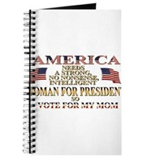 A Woman For President Journal