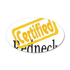 Certified RedNeck 38.5 x 24.5 Oval Wall Peel