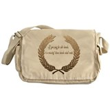 Idle Hands Messenger Bag