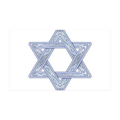 Star of David 38.5 x 24.5 Wall Peel