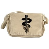 Veterinary Tech Messenger Bag