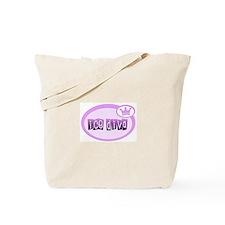 Ice Diva Purple Tote Bag