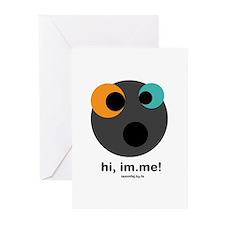 hi, im.me! Greeting Cards (Pk of 20)