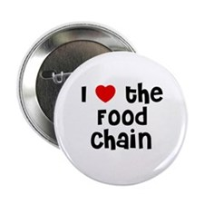 """I * the Food Chain 2.25"""" Button (10 pack)"""