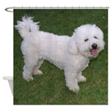 Bichon Frise Shower Curtain