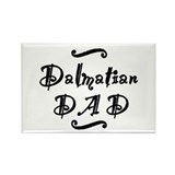 Dalmatian DAD Rectangle Magnet