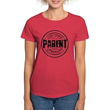 Certified Parent Logo (black) Tee