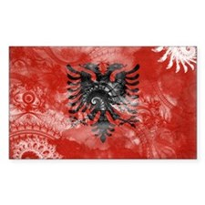 Albania Flag Decal