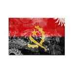 Angola Flag Rectangle Magnet