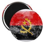 Angola Flag Magnet