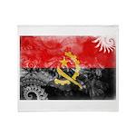 Angola Flag Throw Blanket