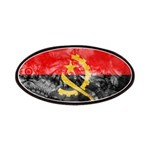 Angola Flag Patches