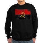 Angola Flag Sweatshirt (dark)