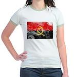 Angola Flag Jr. Ringer T-Shirt