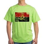 Angola Flag Green T-Shirt