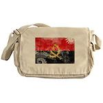 Angola Flag Messenger Bag