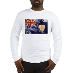 Anguilla Flag Long Sleeve T-Shirt