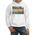 Argentina Flag Hooded Sweatshirt