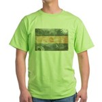 Argentina Flag Green T-Shirt