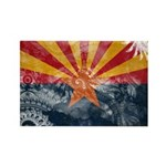 Arizona Flag Rectangle Magnet (100 pack)