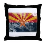 Arizona Flag Throw Pillow