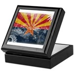 Arizona Flag Keepsake Box