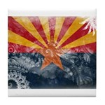 Arizona Flag Tile Coaster