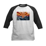 Arizona Flag Kids Baseball Jersey