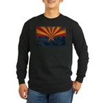 Arizona Flag Long Sleeve Dark T-Shirt