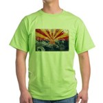 Arizona Flag Green T-Shirt