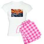Arizona Flag Women's Light Pajamas