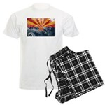 Arizona Flag Men's Light Pajamas