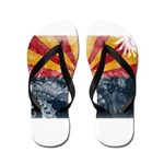 Arizona Flag Flip Flops