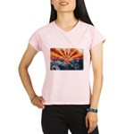 Arizona Flag Performance Dry T-Shirt