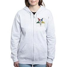 Order of the Eastern Star Zip Hoodie