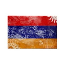 Armenia Flag Rectangle Magnet
