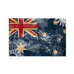 Australia Flag Rectangle Magnet