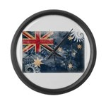 Australia Flag Large Wall Clock