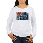 Australia Flag Women's Long Sleeve T-Shirt