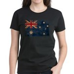 Australia Flag Women's Dark T-Shirt