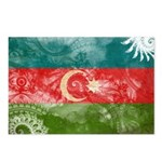 Azerbaijan Flag Postcards (Package of 8)