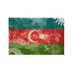 Azerbaijan Flag Rectangle Magnet (10 pack)